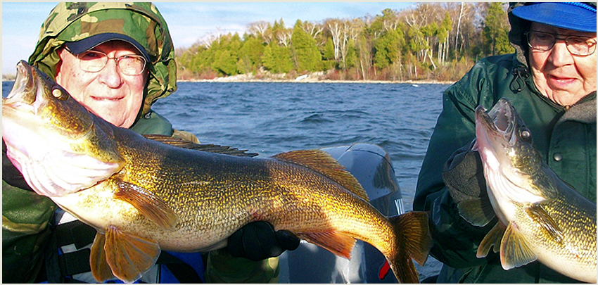 Walleye Charters Green Bay